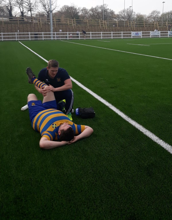 Tony Doorley Osteopath on field treatment